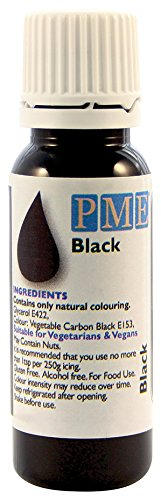 Colorante Alimentario 100% Natural PME - Negro 25 g