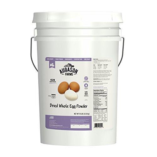 Augason Farms Dried Whole Egg Powder 18 lb 6G Pail