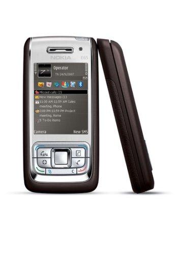 Nokia E65Mocca/silver Cellulare UMTS Vodafone di branding
