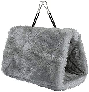 Mumoo Bear Autumn Animal Hut Plush Cloth Hamster Fossa Bird Hanging Cave Cages Nests Snuggle Tent Bed Bunk Toy Parrot Hamm...