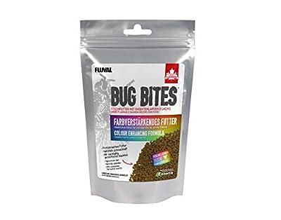 Fluval Bug Bites Colour Enhancing Aquarium Fish Food Granules 125g by Fluval