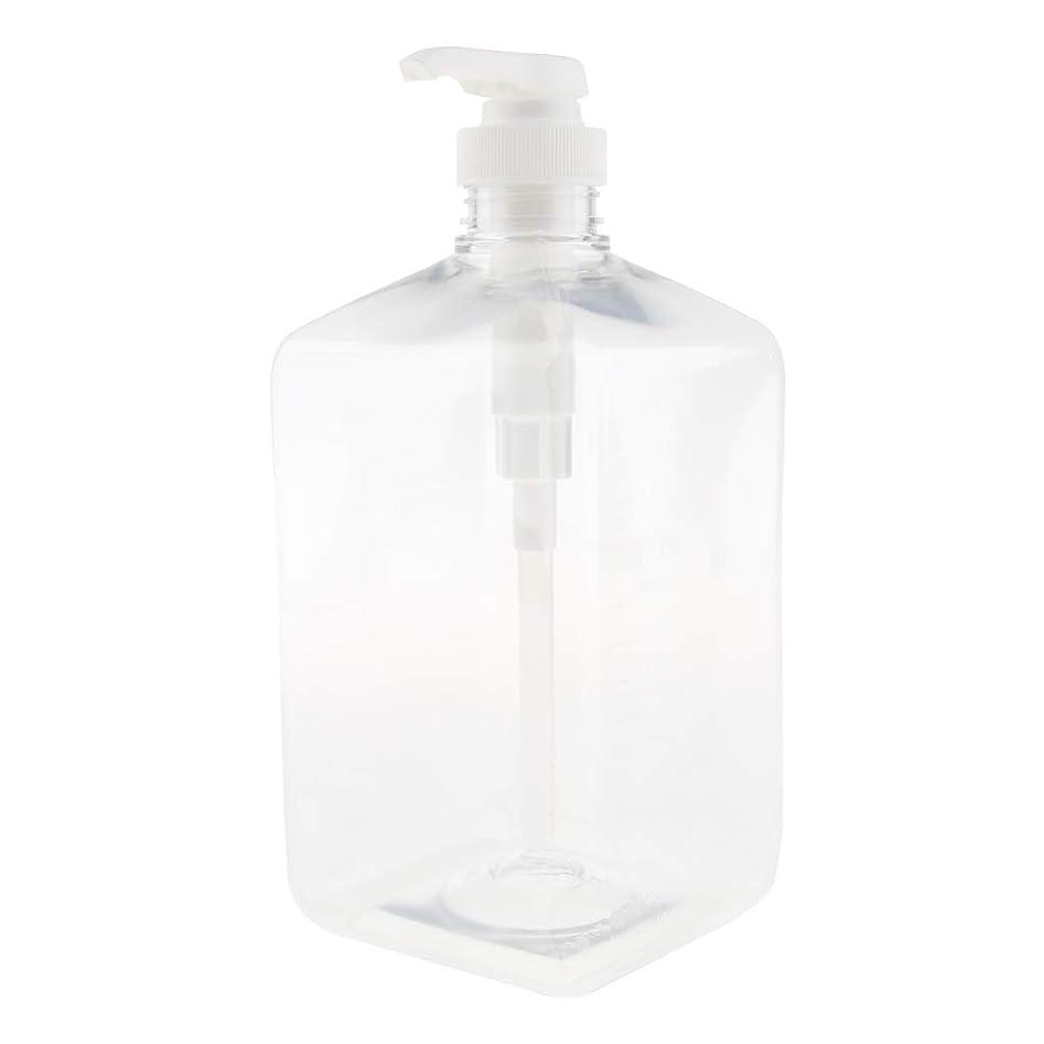 セクション傾斜ヘッドレスHomyl 詰め替え式の液体石鹸ポンプは旅行液体ディスペンサーのために大きい1000mlをびん詰めにします - 15ミリリットル