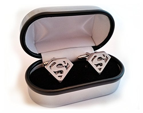 Super Hero Cufflinks and Chrome Presentation