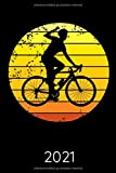 Kalender 2021: Rennrad Rennradfahrer Taschenkalender und Organizer für 2021 zum Planen und Organisieren von Terminen - Wochenplaner von Januar bis ... Mit Jahresübersicht, Geburtstagsplan & Ferien