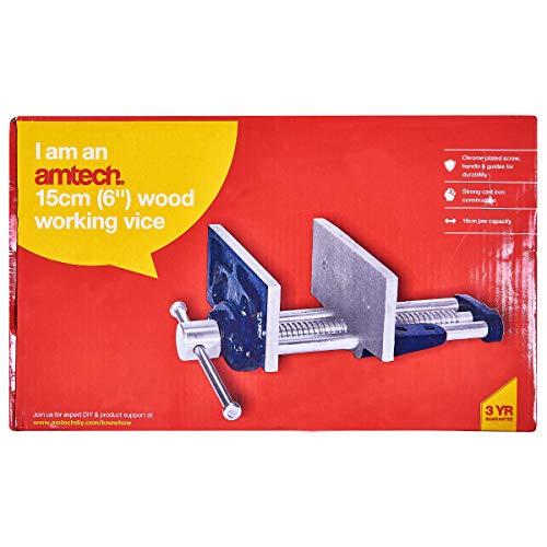 Am-Tech 6 Zoll Wood Working Vice, D2600 - 3