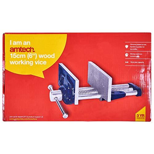 Am-Tech 6 Zoll Wood Working Vice, D2600 - 3