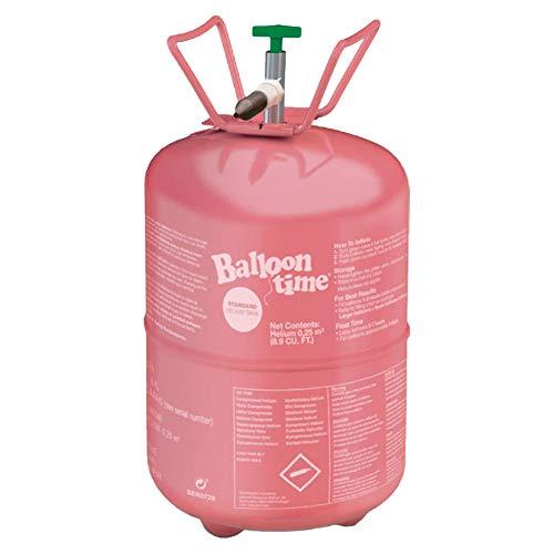 amscan 08-0A002 Pink Helium Kanister Partyzubehör – 1 Stück