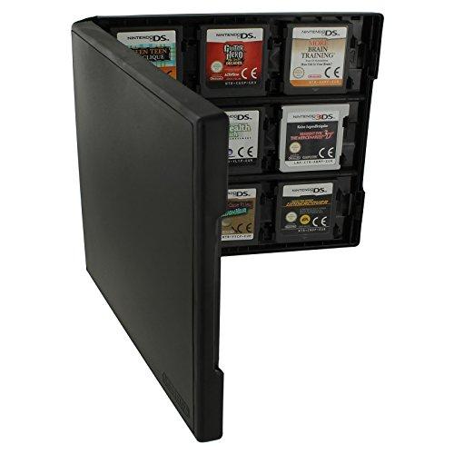 Preisvergleich Produktbild Assecure Pro 18 in 1 Game Cartridge Halter Storage System Folio Style Case Box für Nintendo 3DS,  2DS und DS Spiel Karten