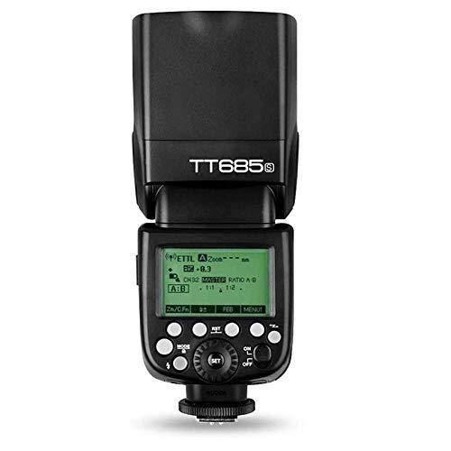 【正規品 技適マーク付き】Godox TT685S スピードライトTTL マスター スレーブ 2.4G ワイヤレス 伝送 Sony A77II A7RII A7R A58 A99 ILCE6000L ILDC カメラ用 [並行輸入品]
