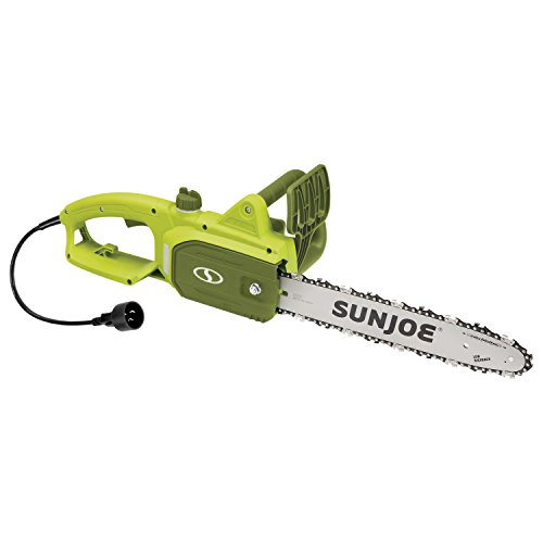 For Sale! Sun Joe SWJ599E 14-inch 9-Amp Tree Limb Master Electric Handheld Chainsaw with Low-Kickback