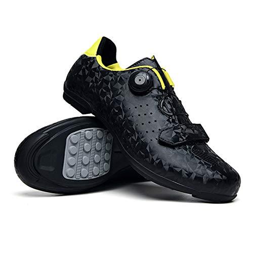 Lixada Zapatillas de Ciclismo de Carretera MTB para Hombre Zapatillas de Spinning...