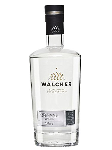 Walcher Grappa Bianca Classic 38% 0,7 Liter