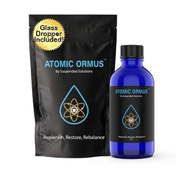 Suspended Solutions - Atomic ORMUS - 4oz - Monoatomic Gold Ormus - Memory AID ENERGETICALLY Enhanced REJUVENATING Increased Energy Stamina Vitality - Gold Platinum Iridium