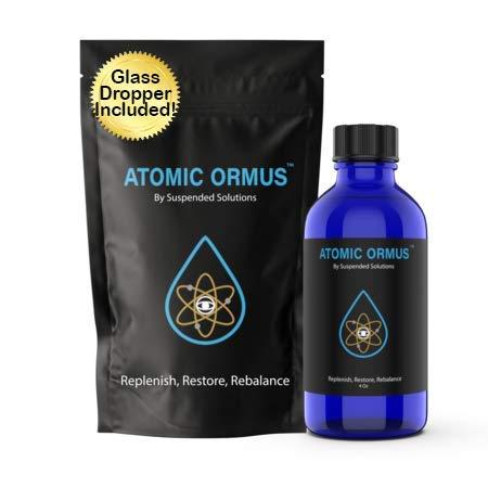 Suspended Solutions - Atomic ORMUS - 4oz - Monoatomic Gold Ormus - Memory AID, ENERGETICALLY Enhanced, REJUVENATING, Increased Energy, Stamina, Vitality - Gold, Platinum, Iridium
