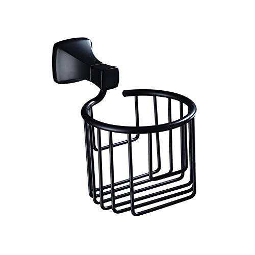 HMMJ Tenedor de Papel higiénico, Soporte de Papel higiénico multifunción montado en la Pared, Organizador de Papel de Rollo de Aluminio Espacial, Perchero de Almacenamiento para baño de Cocina