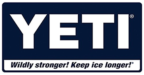 "YETI COOLER Sticker ORIGINAL Authentic YETI 4"" X 2"