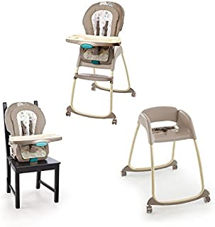 Ingenuity Trio 3-in-1 Deluxe High Chair-Sahara Burst by Ingenuity