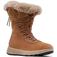 Columbia Women's Slopeside Village Omni-Heat Hi Snow Boots (Elk/Autumn Orange)
