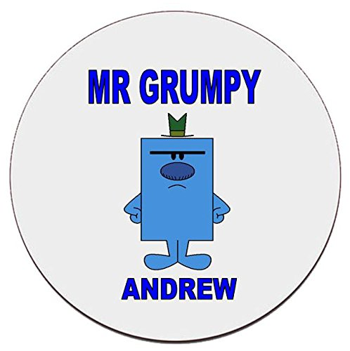 Personalised Mr Grumpy Coaster ...
