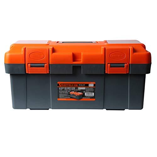 YIN YIN - Caja de almacenamiento de herramientas Caja de herramientas de espacio grande Caja de almacenamiento de herramientas de reparación de maletas portátiles multifunción Familia de automóviles,