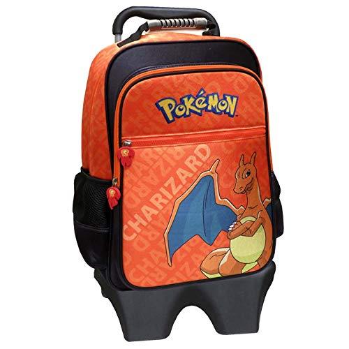 CYP BRANDS - Mochila con Trolley Extraíble Pokémon Charizard