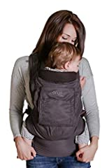 PREMIUM QUALITY - Ergonomic Soft Structured Baby Carrier with 3 carrying positions: Front, back and hip. Soft, water resistant fabric on the outside with breathable 3D air-mesh inside that's perfect for all seasons. We only use premium, high quality ...