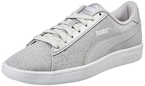PUMA Smash v2 Glitz Glam Jr, Chaussures de Running, Rose, 38.5 EU
