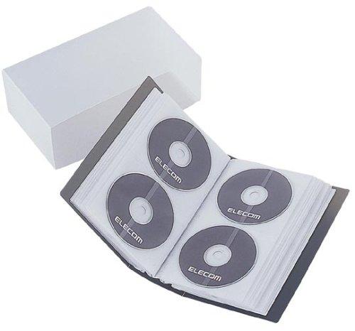 【2004年モデル】ELECOM CCD-F96BK CD/DVDファイル(96枚収納)