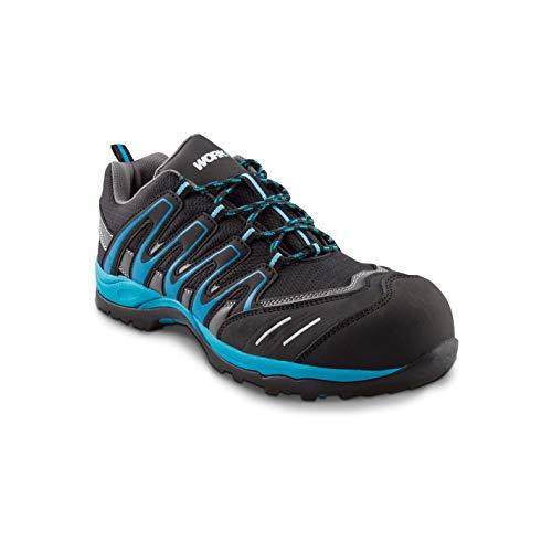 Zapato Seguridad WorkFit Trail Azul Numero 40