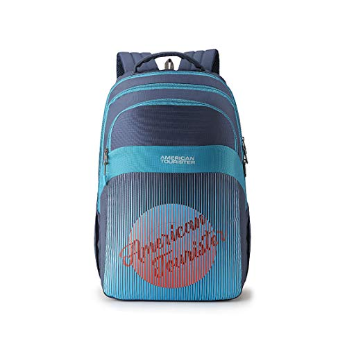 American Tourister Crone 29 Ltrs Teal Casual Backpack (FG8 (0) 11 208)