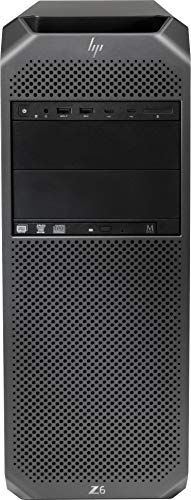 HP Z6 G4 3GF39UT#ABA Workstation Intel Xeon Bronze 3106 (8 Core) 1.7GHz 8GB DDR4 SDRAM 1TB HDD Windows 10 Pro 64-bit Mini-Tower Black