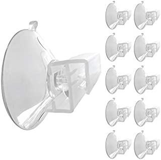 goKelvin Suction Cup Sign Holder 1-3/4 inch (45 mm) - 10 Pack - Made in USA (Medium)
