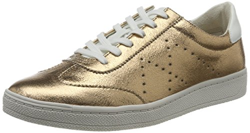 Tamaris Damen 23692 Sneakers, Gold (Gold Structure 953), 38 EU