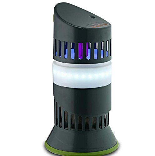 Vliegenlamp, fotokatalysator, muggenverdrijver, restaurant, interieur, vliegenlicht, restaurant, lamp tegen muggen, in de slaapkamer