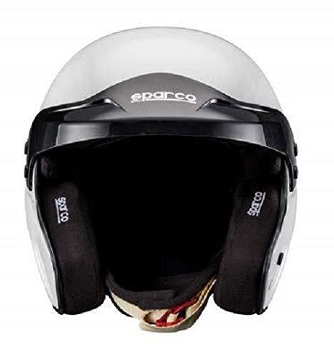 Sparco 0033533ML Helm Pro, Größe: ML, weiß