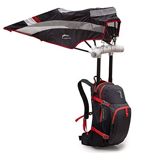 Hiking Backpack Umbrella Camping Touring Daypack UV Rain Sun Protection UPF 50+