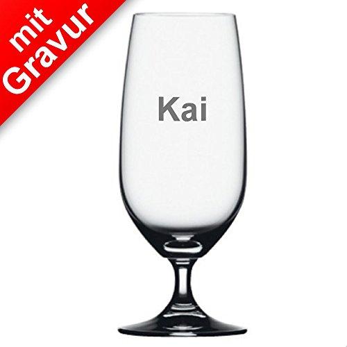 Spiegelau Vino Grande Biertulpe 4er Set MIT Gravur (z.B. Namen) - Bierglas