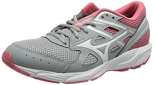 Mizuno Spark 6, Zapatillas para Correr Mujer, Highrise Tearose Blanco, 38.5 EU