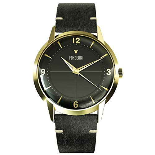 Fonderia The Professor II Classic P-6G015UNG - Reloj de pulsera para hombre, estilo vintage