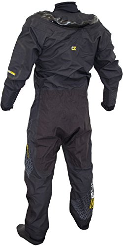 GUL Stretch U-ZipDrysuit Black