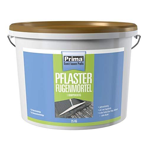 Prima Pflasterfugenmoertel 1K beige 25 kg - Für das wasserdurchlässige Verfugen von Pflaster- und Betonsteinen