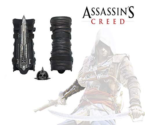 Acrim Toys Assassins Creed Iv 4 Black Flag Pirate Hidden Blade Gauntlet Cosplay Replica With Skull Buckle Halloween Play Buy Online In Georgia Acrim Products In Georgia See Prices