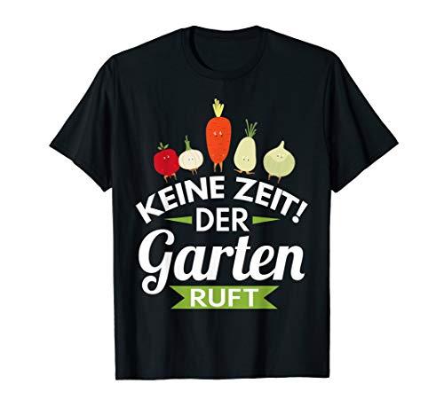 Lustiges Rentner Ruhestand Pesnion Garten ruft Geschenk T-Shirt