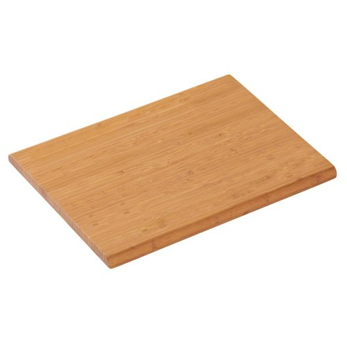 Kesper snijplank, 2 stuks, ontbijtplank, broodplank, keukenplank, van FSC®-bamboe, afmetingen: ca. 250 x 150 x 13 mm