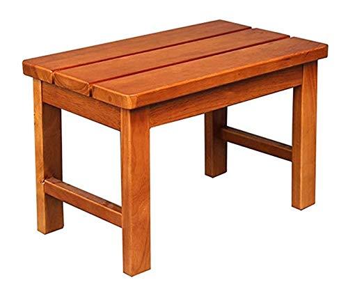 bathroom stool Duschhocker/Badhocker Aus Holz Duschsitzhocker Senioren Behinderte rutschfeste Duschsitz (50 * 30 * 30cm)