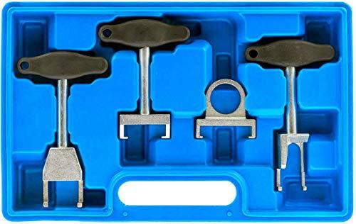 Fourward Zündspulen Abzieher Kit,4-TLG Zündkerzen Abzieher Auto Zündspulen Abzieher Werkzeugsatz Kfz Reparaturwerkzeuge für VAG-Fahrzeuge