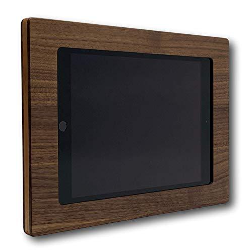 NobleFrames Tablet Halterung aus Holz für Apple iPad 7 (2019), iPad Air 3 (2019), iPad Pro 10.5 (2017) - Nussholz