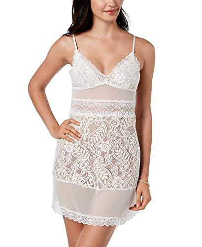 Linea Donatella Women's Bellisima Bridal Sheer Lace Chemise