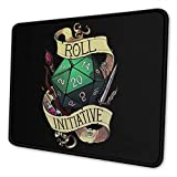 Mouse Pad Rubber Non-Slip Gaming Mouse Pad Portable Computers Laptop Office Desk Accessories 10 X 12 Inch