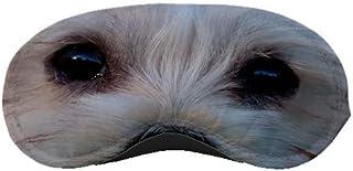 Maltese Dog Puppy Eyes Face Sleep Sleeping Mask Travel